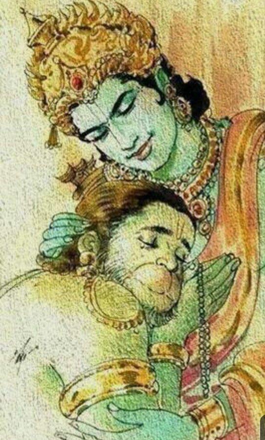 lord ram hanuman